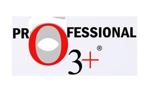 Logo of our partner, O3+ Professional